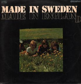 MADE IN SWEDEN - made in england