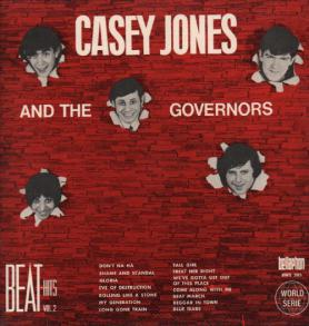 CASEY JONES AND THE  GOVERNORS - beat hits vol.2